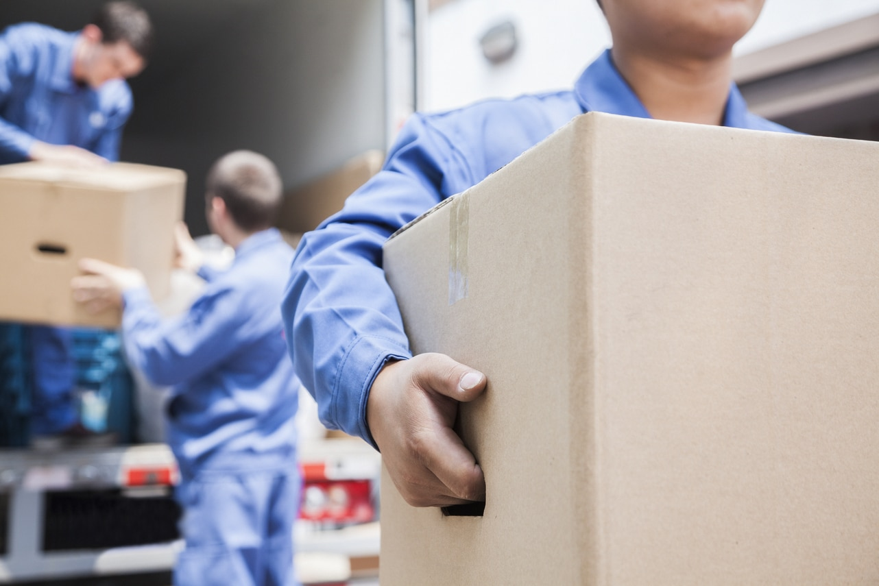 Movers Moving Boxes - Get Your Quote