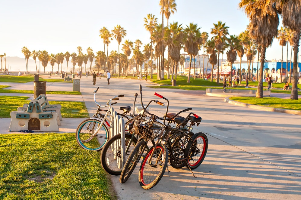 LA with Bicycles - Get Your Quote