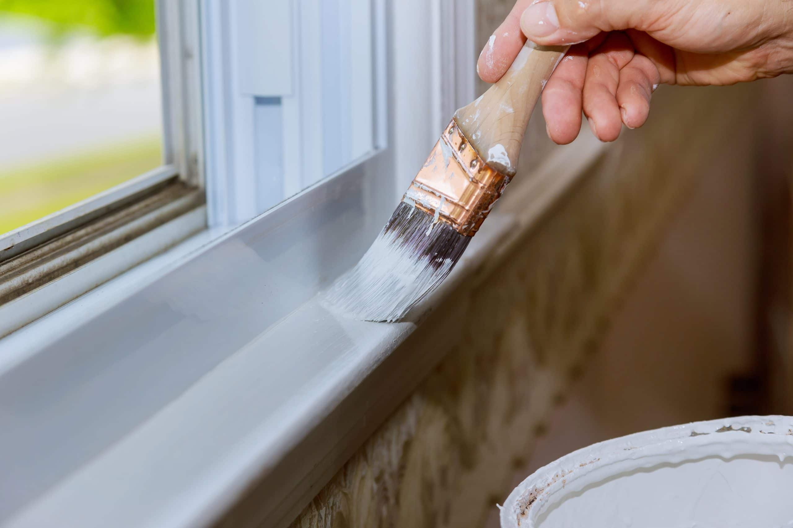 Painting a Windowsill - Home Painting Companies - Get Your Quote
