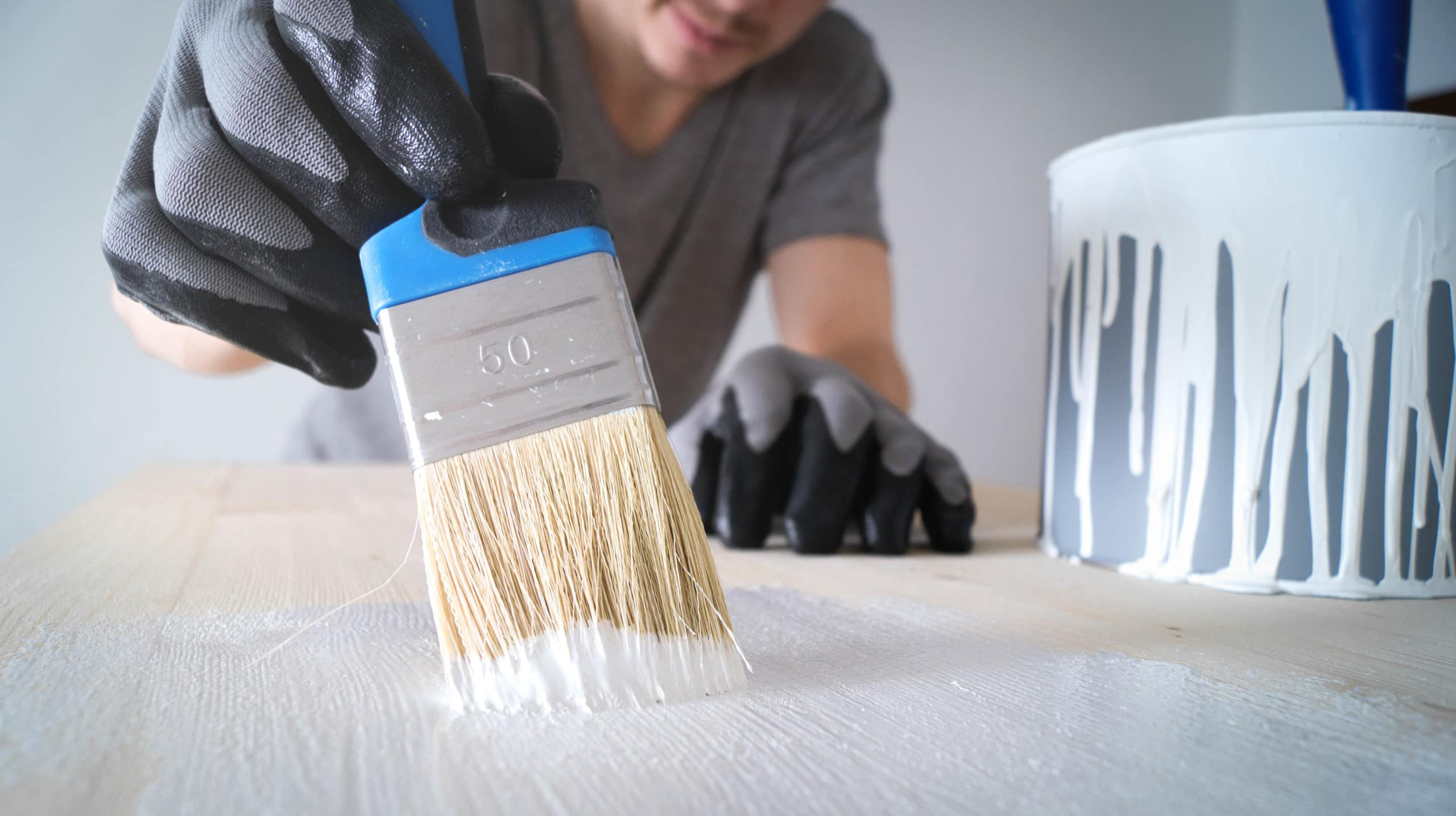 Painter Painting Wood - Painters Near Me - Get Your Quote