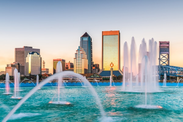 Skyline of Jacksonville, Florida - Get Your Quote