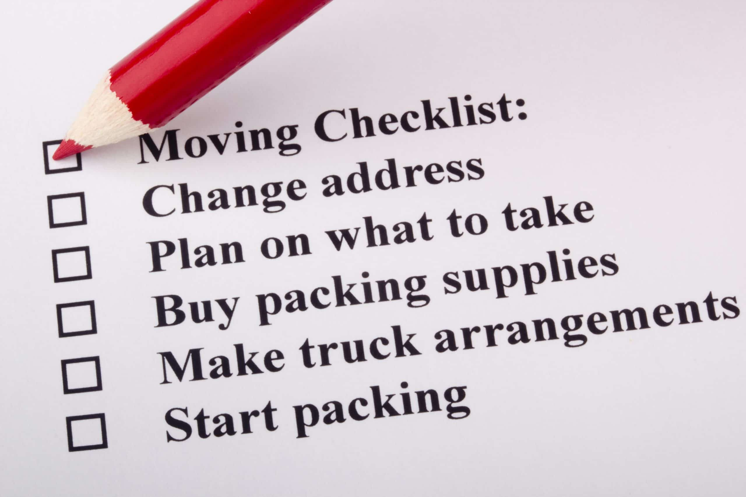 Moving Checklist - Things to Do Before Hiring a Moving Company - Get Your Quote