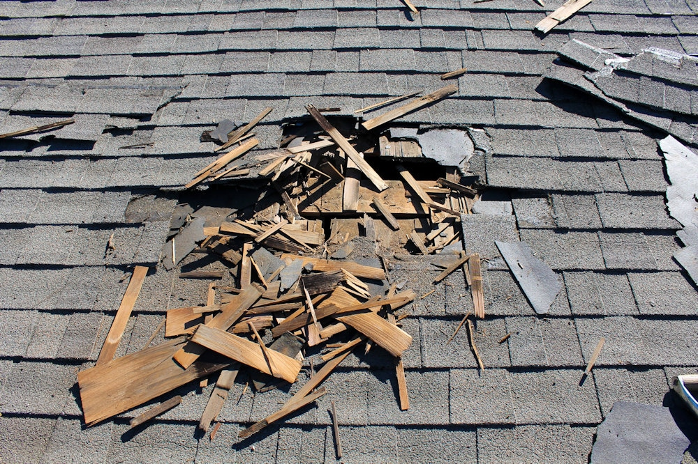 Seriously Damaged Roof - Find Roofers Near You - Get Your Quote