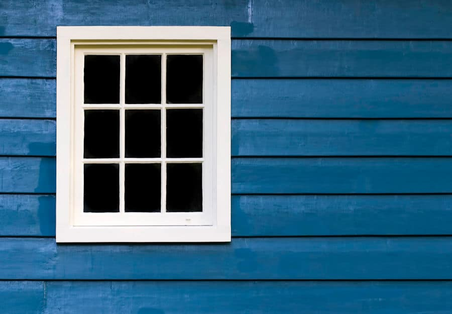 blue-wall-white-window
