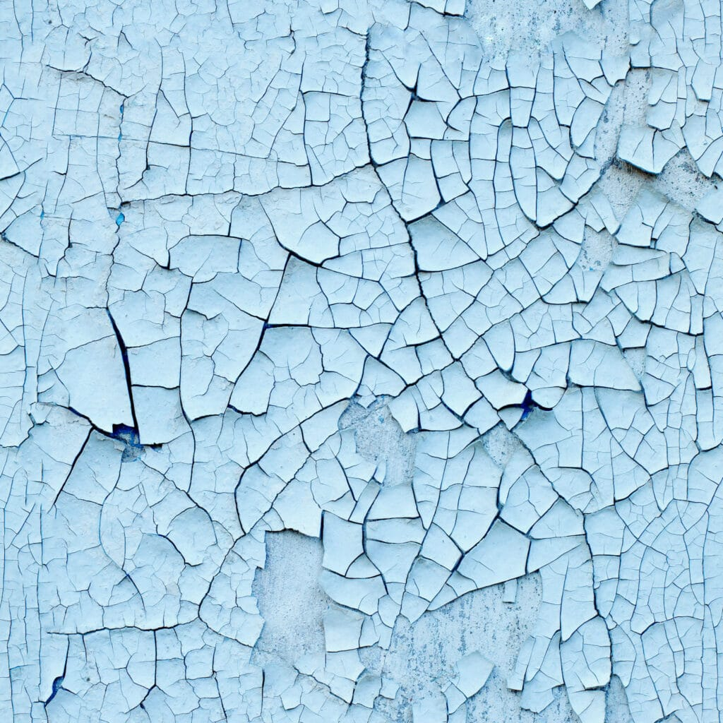 cracking-blue-paint